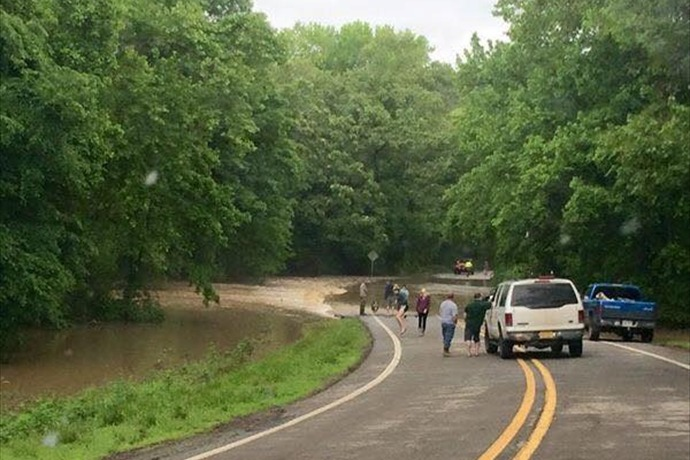 Mulberry River Flooding in Franklin County_1953509304853807766