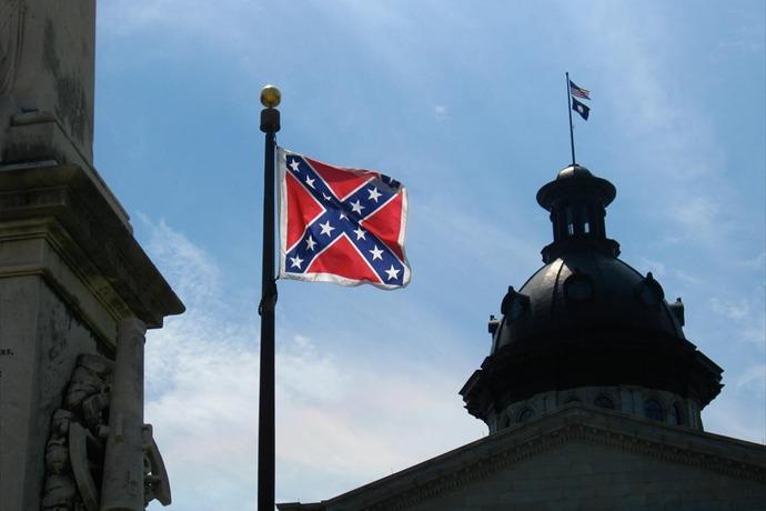 South Carolina capitol Confederate flag_5392044079742798937