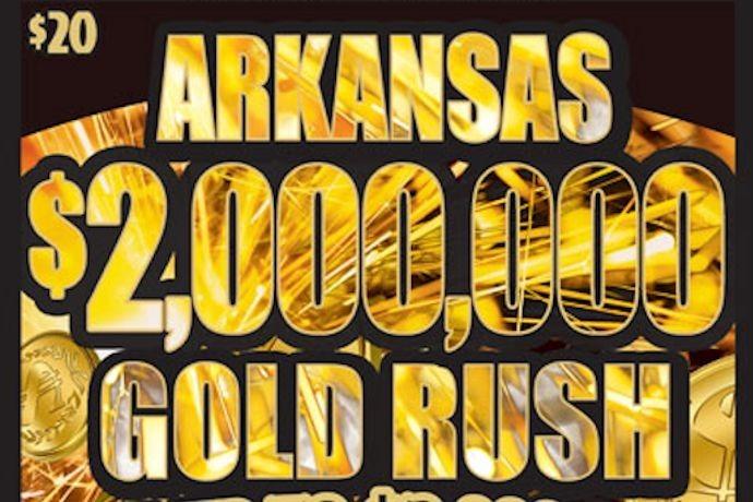 Arkansas $2,000,000 Gold Rush ticket_-2439452496076387282