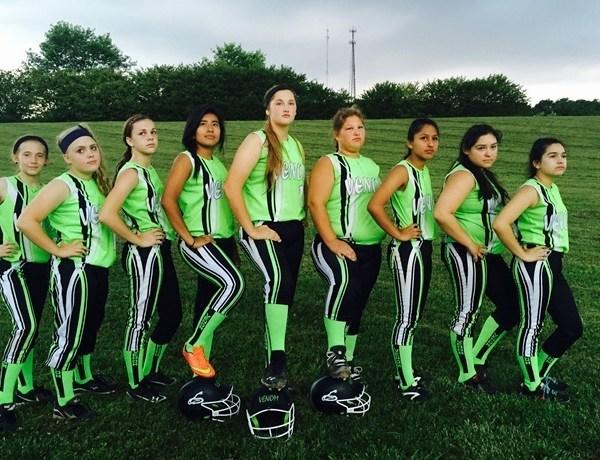 Venom Fast Pitch Softball team in Fayetteville._9002489725421174836