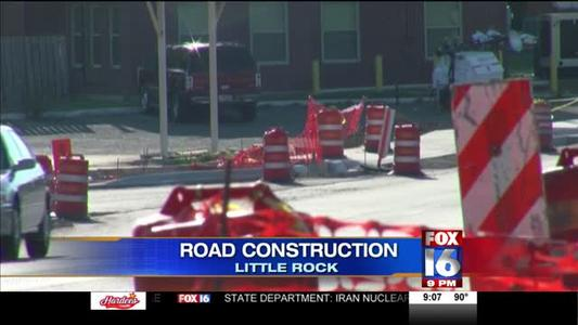 Road Construction Continues In West Little Rock_2575027251272043660