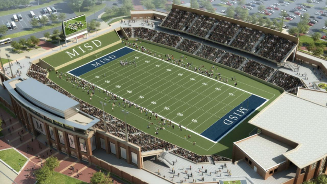 Texas high school to build -62-8 million football stadium_30717259-159532