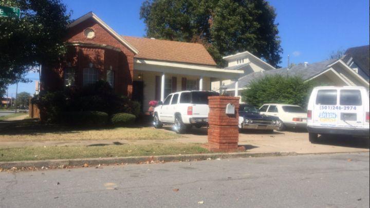 South State Street shooting scene in Little Rock