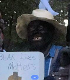 Blevins School board member Ted Bonner blackface picture from his Facebook