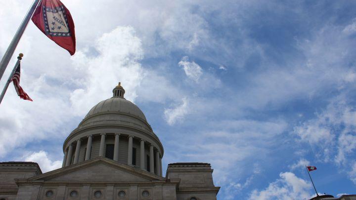 State Capitol Arkansas Background Generic-118809306