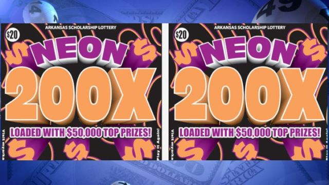 Arkansas Lottery Game Offers $50K Prizes