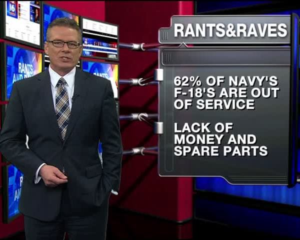 Rants - Raves- Over Half Of Navy-s F-18-s Out of Service_61194100