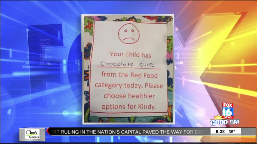 Rants and Raves: Lunch Treat Results in Note from Teacher