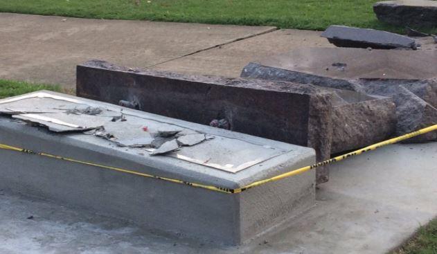 Ten Commandments Monument Destroyed in Little Rock_1498658666169.JPG