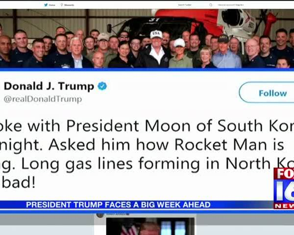 President Trump Faces A Big Week Ahead_86766497