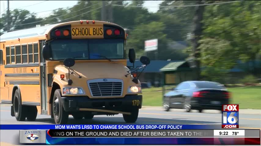 Mother Wants LRSD to Change School Bus Drop-Off Policy