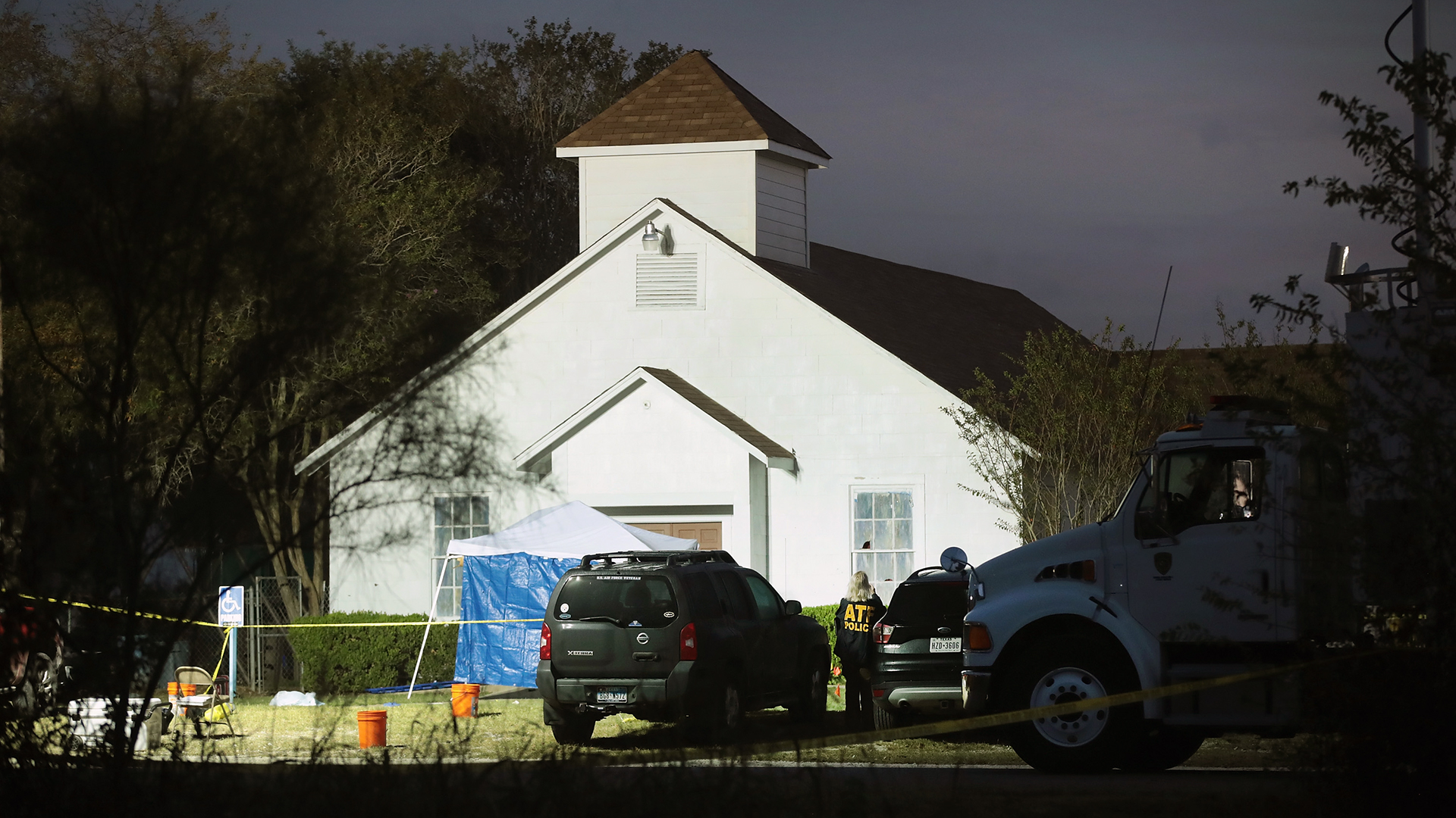 Texas Church Shooting First Baptist Church crime scene-159532.jpg87328718