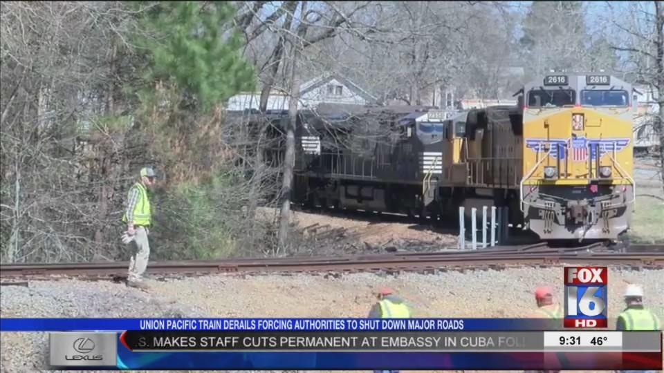 Train Derailment in Columbia County