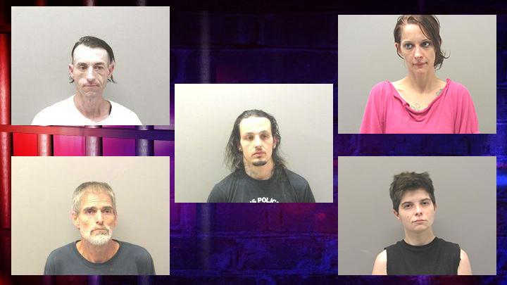 8 Arrests in Hot Springs Drug Raid