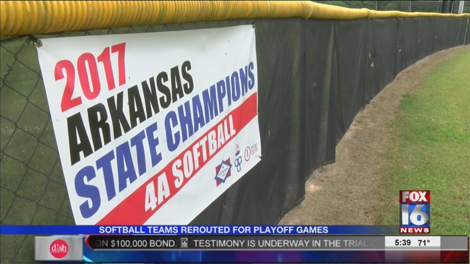 Softball Championship Games Moved to Benton Athletic Complex