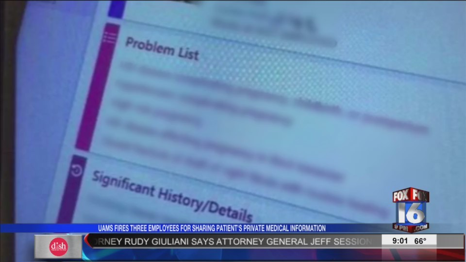 HIV Patient's Records Leaked, UAMS Fires 3