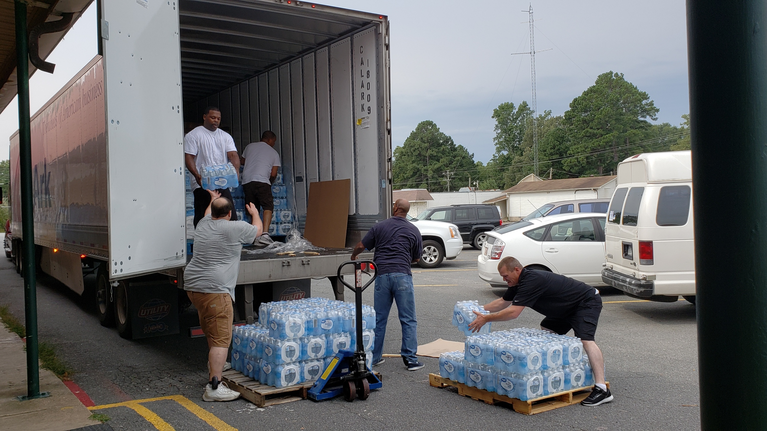 Donation at Healing Waters