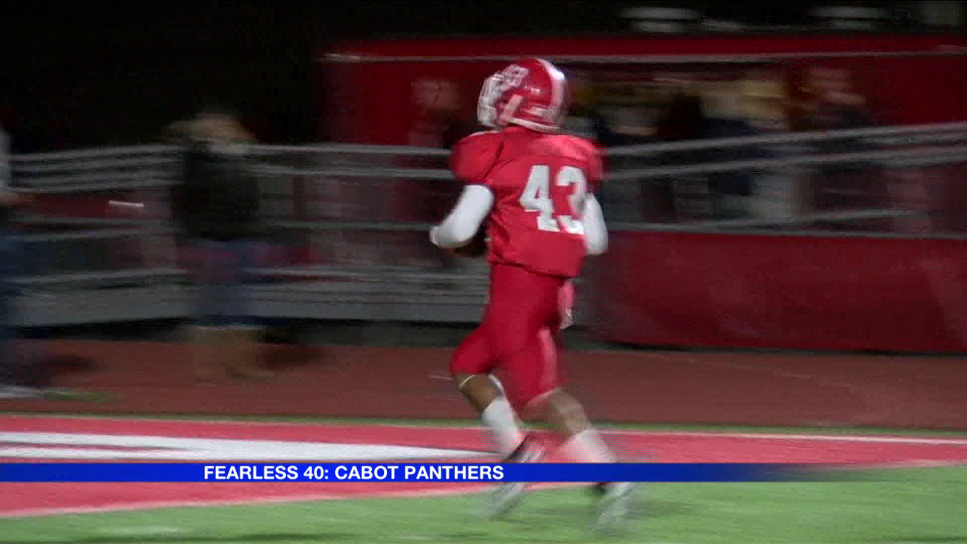 Fearless 40: Cabot Panthers