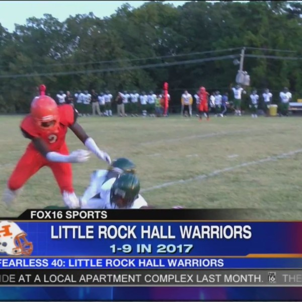 Fearless Friday: Little Rock Hall Warriors