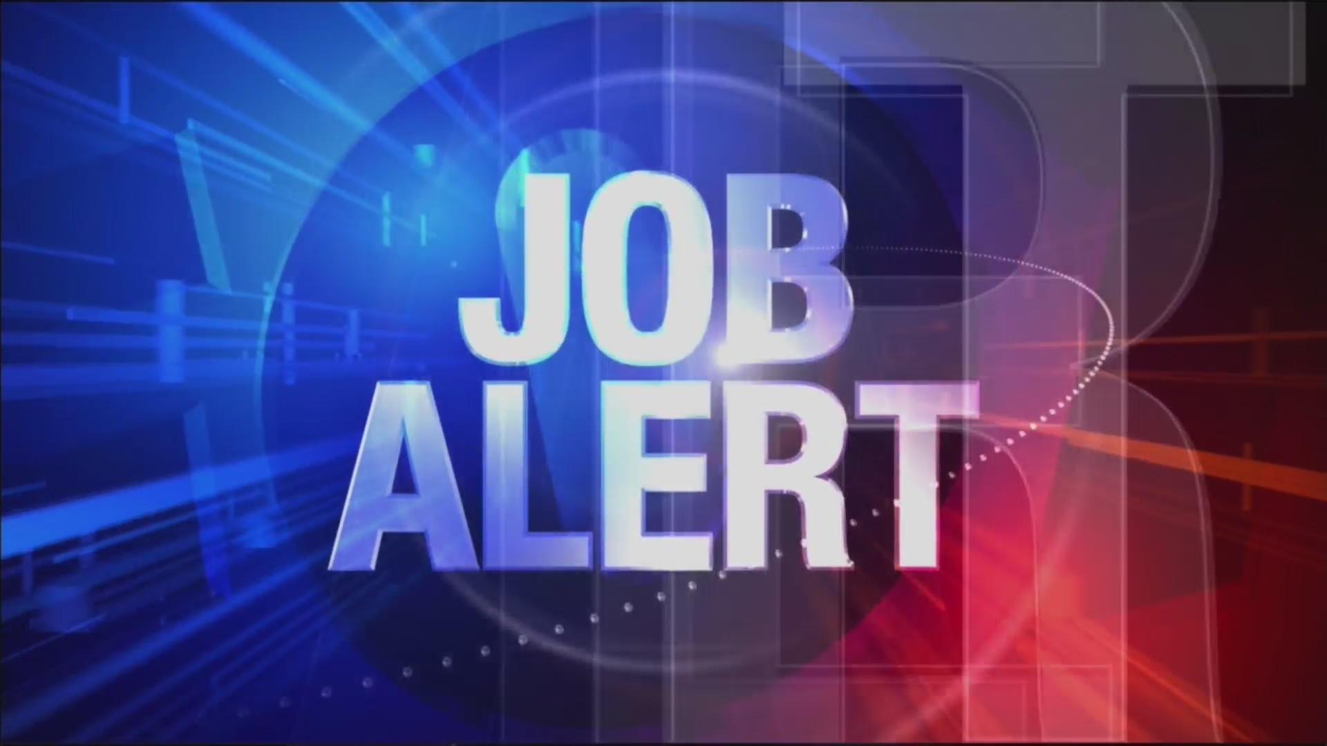 Job Alert for 09-26-18