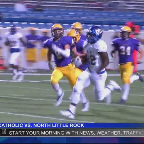 North Little Rock Takes Down Catholic 49-17
