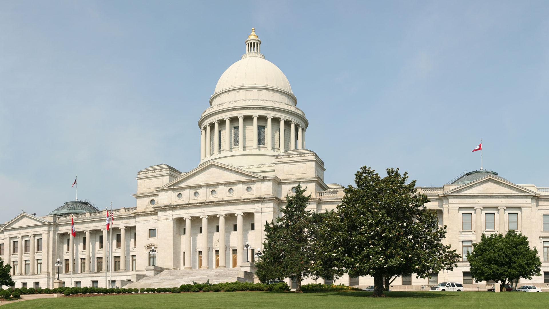 Arkansas State Capitol in Little Rock49525522-159532-159532