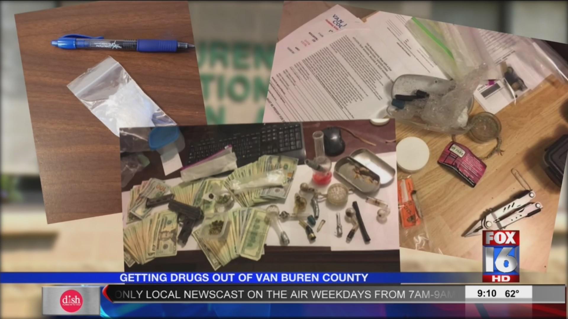 New sheriff cracking down on drugs in Van Buren County
