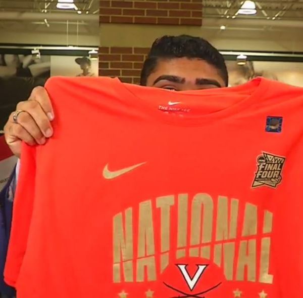 Here's where you can get UVA national championship gear