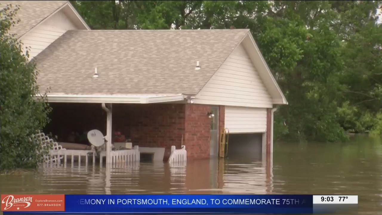 Pine Bluff homeowners ready for flood to be over