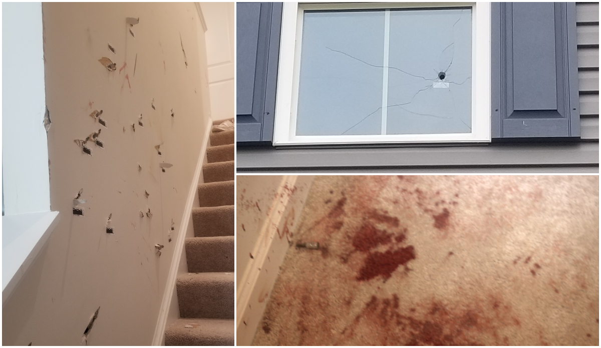 Naked Woman Claiming To Be The Devil Invades Home, Attacks