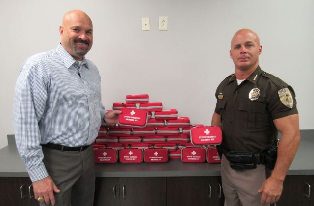 Narcan overdose kits for Saline Co. Sheriff's Office