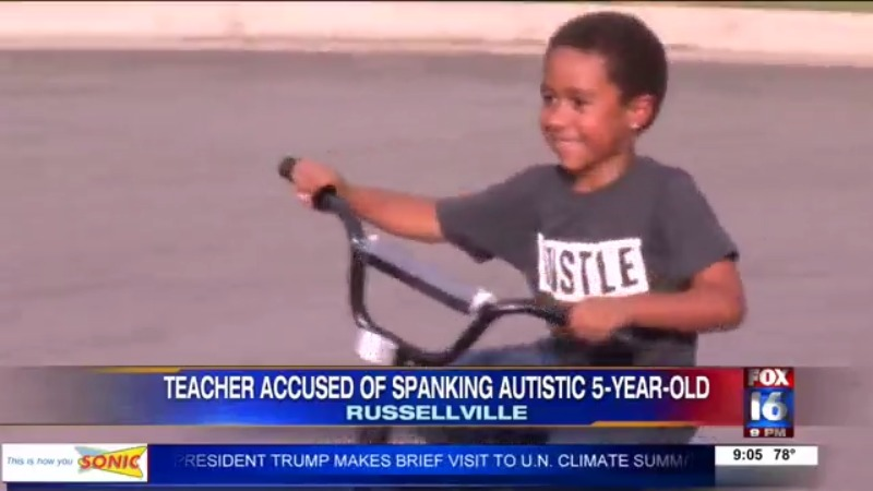 Image result for Arkansas Teacher Under Fire After Spanking Black Autistic Child in Class