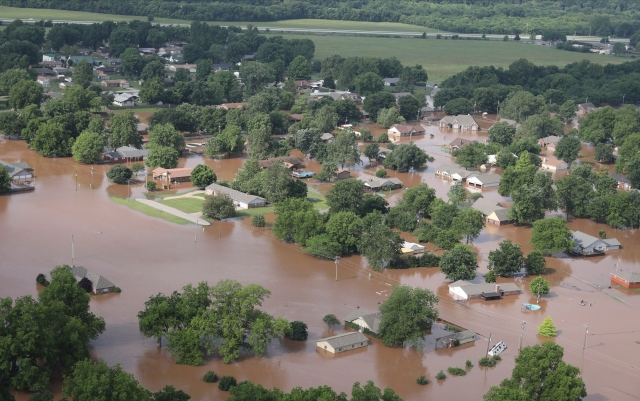 $160 million plan for Tulsa levee system, which caused historic flooding in Arkansas