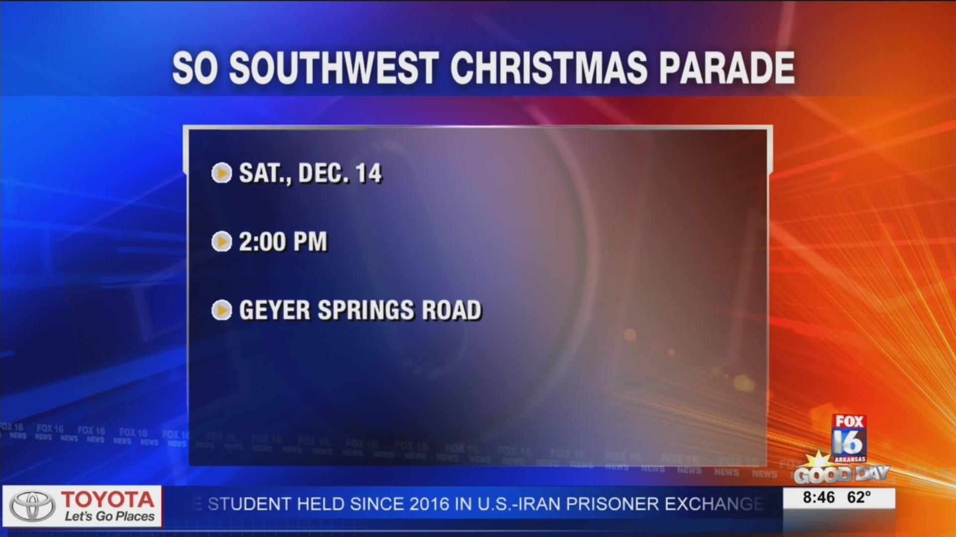 So Southwest Christmas Parade   KLRT