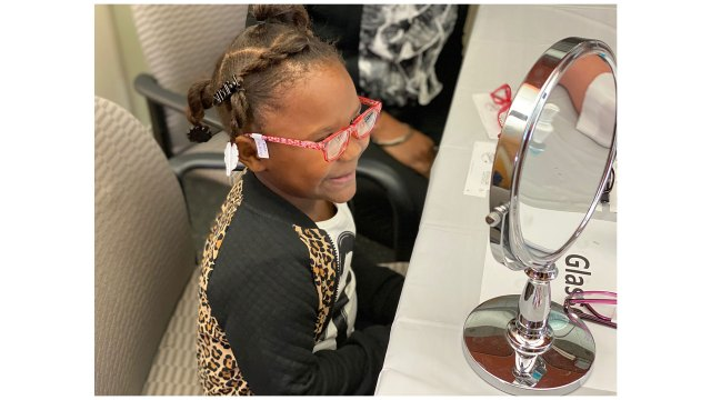 Free glasses for some LRSD students, donated by doctors