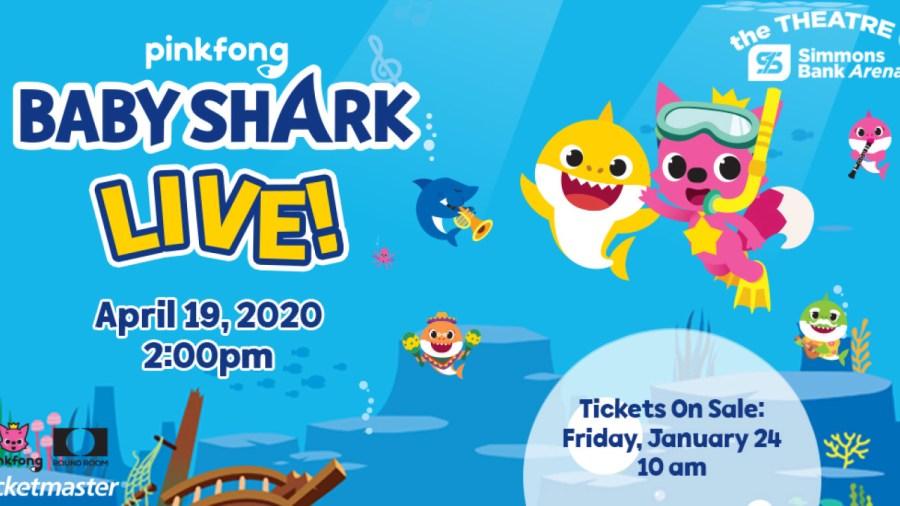 baby shark simmons bank arena