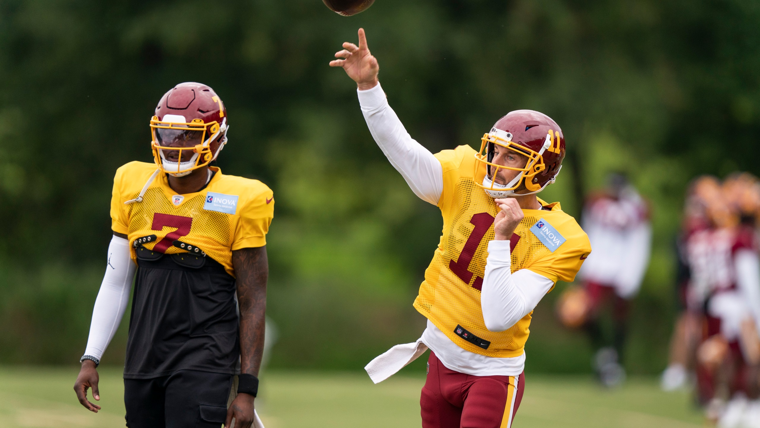 Alex Smith, Dwayne Haskins