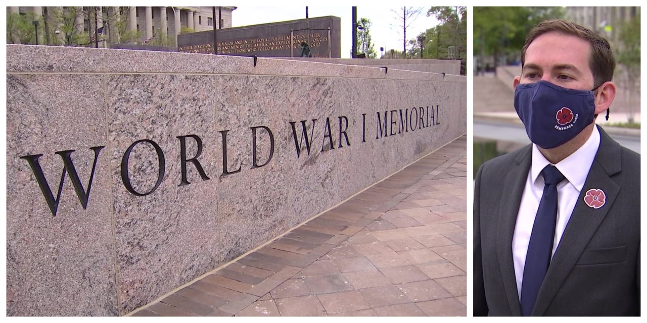 Fayetteville native designs newly opened WWI memorial in Washington, D.C.