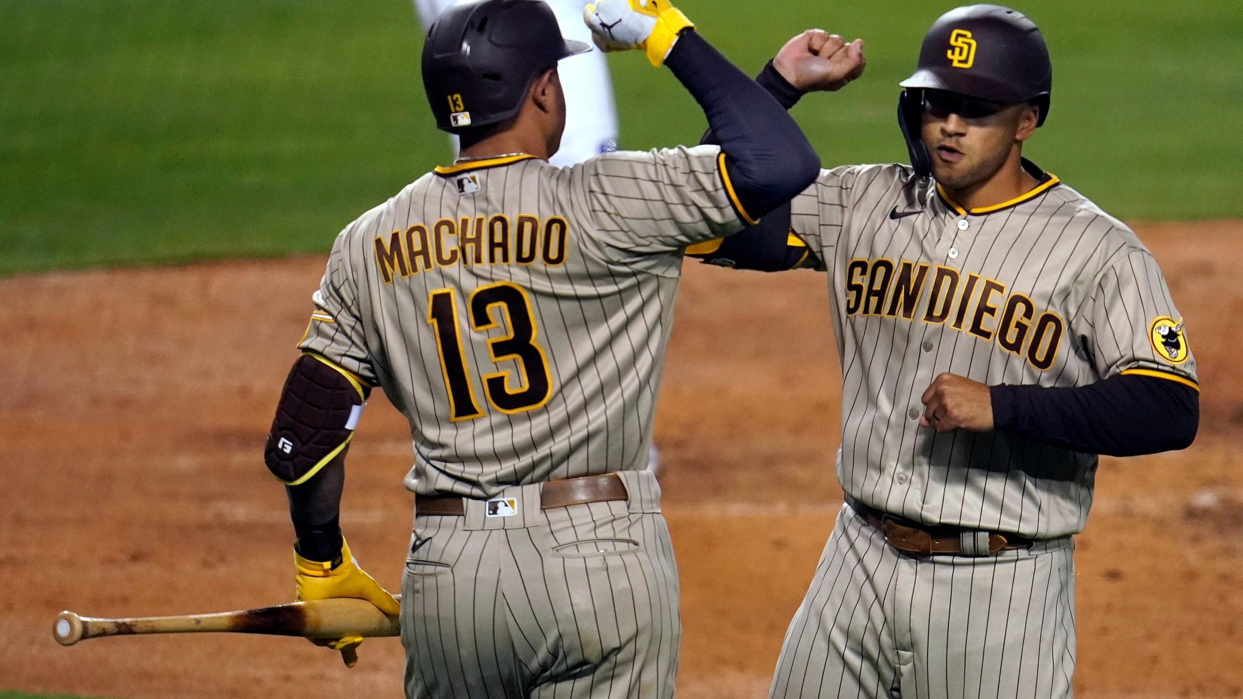 Trent Grisham, Manny Machado