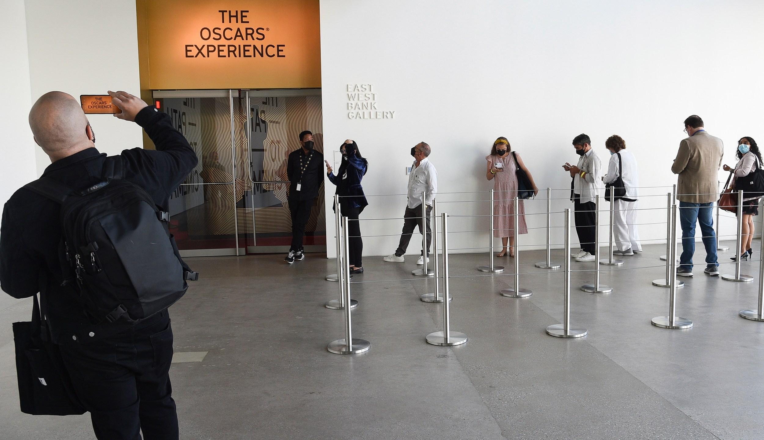 The Oscars Experience Exhibit
